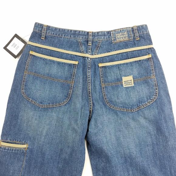 Marithe Francois Girbaud Hip Hop Baggy Denim Jeans 1a8ee703475